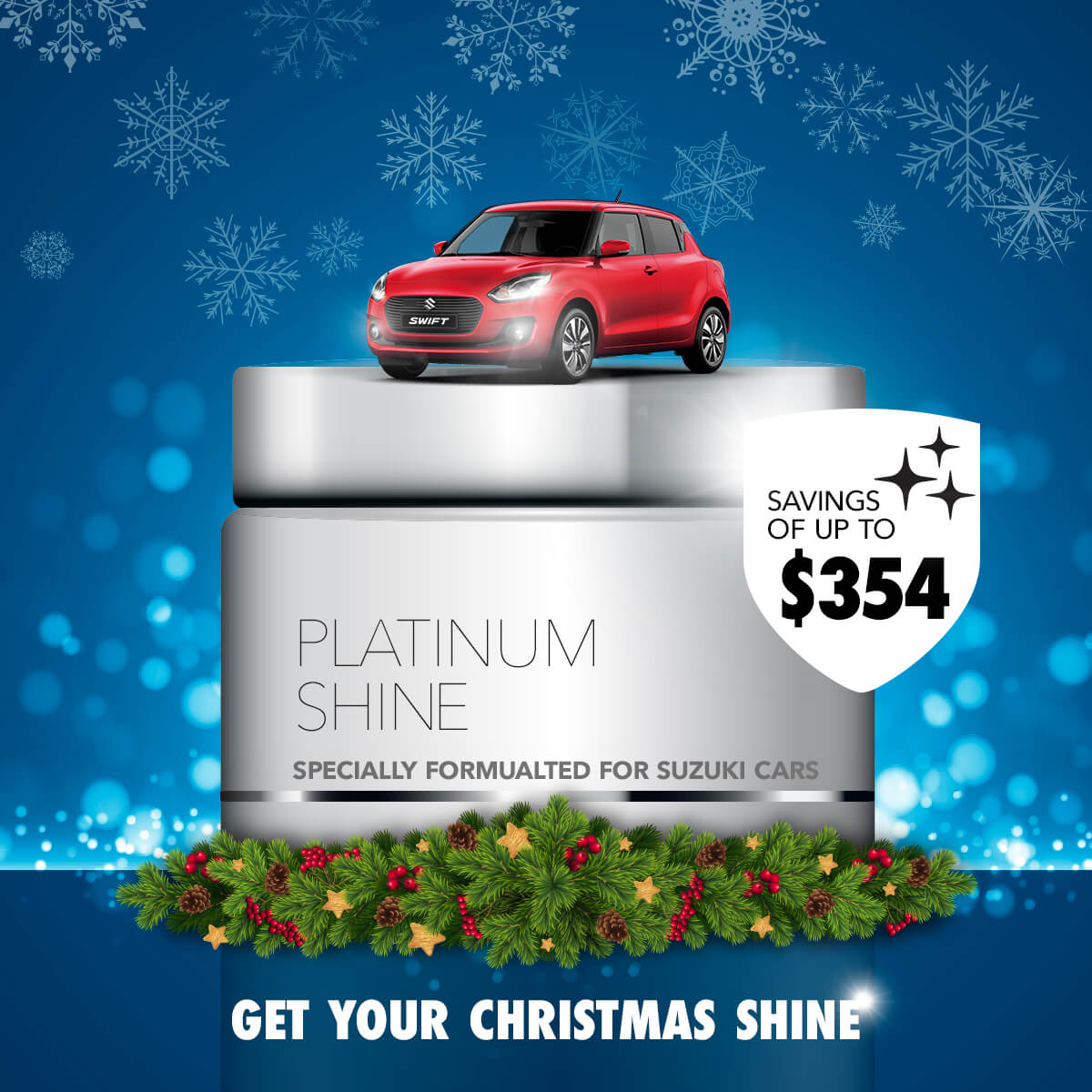 Suzuki Platinum Shine Offer