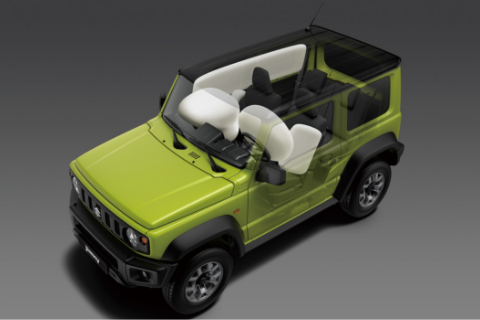 Suzuki Jimny Singapore 6 Airbags